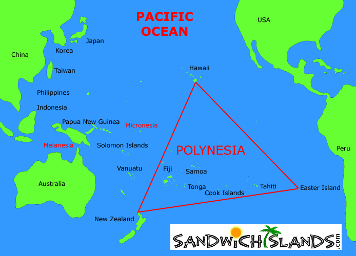 The sandwich islands polynesia means many islands sciox Choice Image