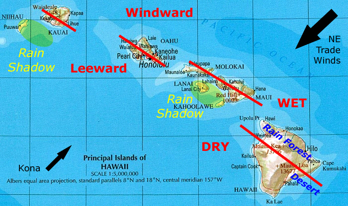 A move to paradise windward vs leeward The windward